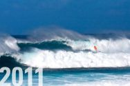 "2011: CHRIS BENZ on ""the wave of the day"" at Hookipa Beach, Maui (Hawaii)"