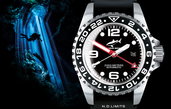 DEEP 2000M-Automatic-GMT